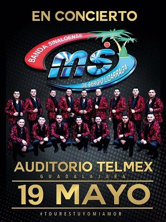 Banda MS en Auditorio Telmex