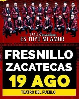 Banda MS en la Feria Nacional de Fresnillo 2017