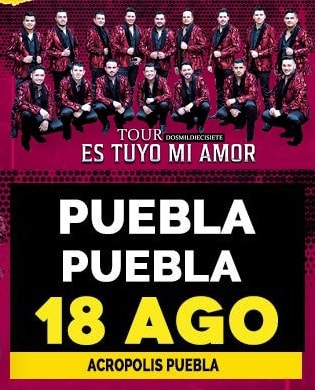 Banda MS en el Acropolis Puebla