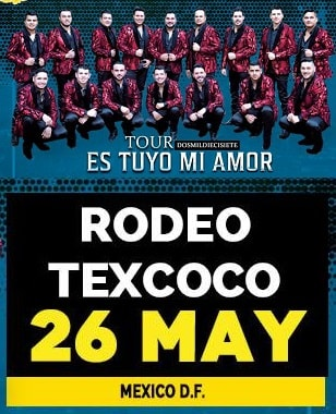 Banda MS en Rodeo Texcoco