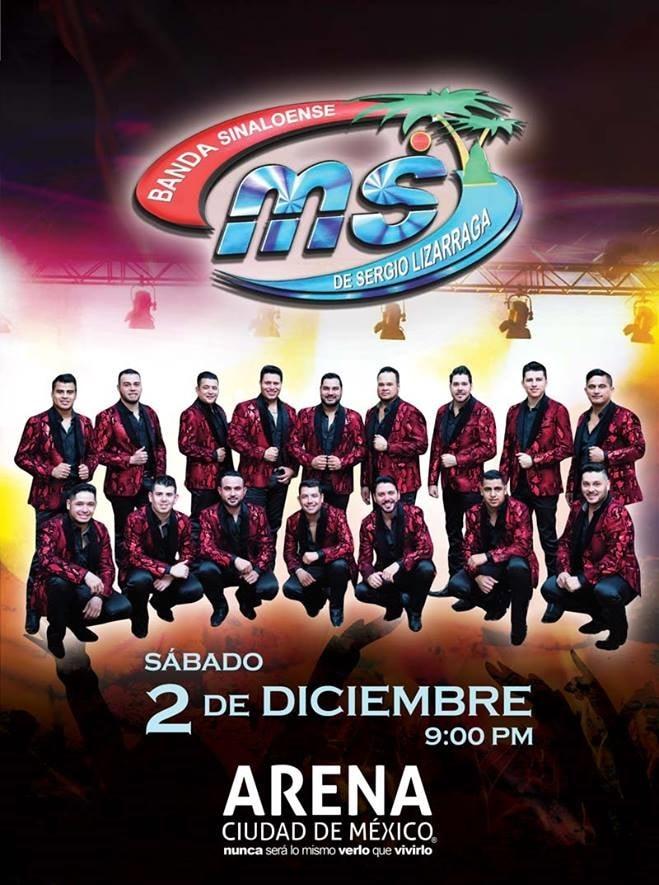 Boletos Banda MS en Arena Ciudad de Mexico 2017
