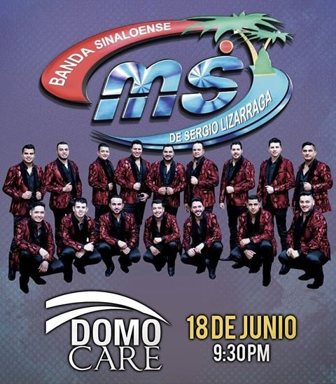 Boletos Banda MS Domo Care 2017