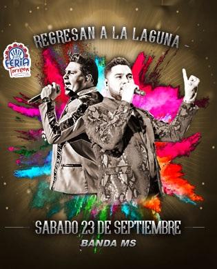 Boletos Banda MS Feria Torreon 2017