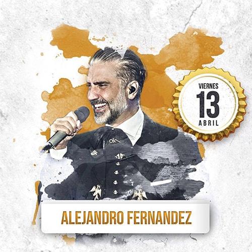 Alejandro Fernandez en Palenque Tepabril 2018