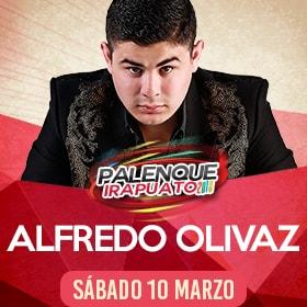 Alfredo Olivas en Palenque Irapuato 2018