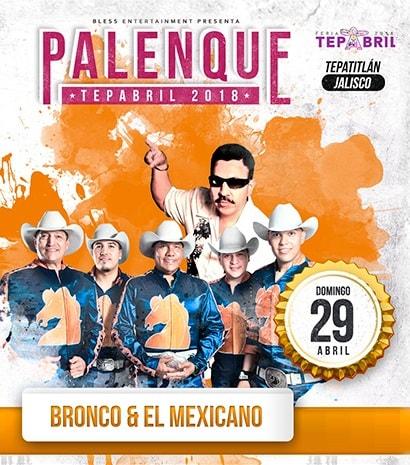 Bronco en Palenque Tepabril 2018