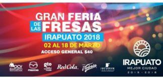 Gran Feria de las Fresas Irapuato 2018