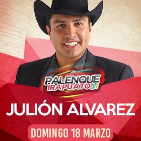 Julion Alvarez en Palenque Irapuato 2018