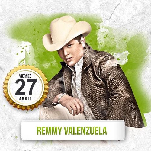 Remmy Valenzuela en Palenque Tepabril 2018