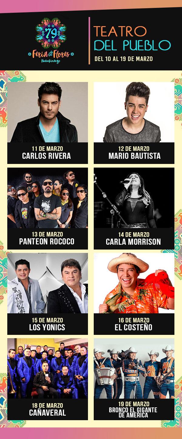 Teatro del Pueblo - Feria Huauchinango 2017