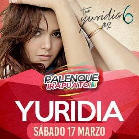 Yuridia en Palenque Irapuato 2018
