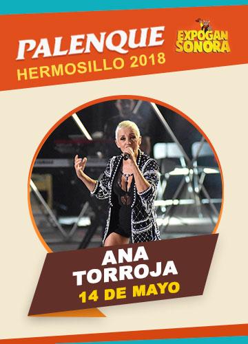 Ana Torroja en el Palenque Hermosillo 2018