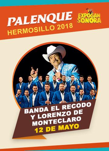 Banda El Recodo en el Palenque Hermosillo 2018