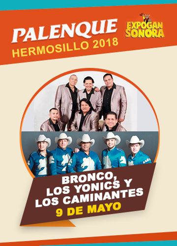 Bronco en el Palenque Hermosillo 2018