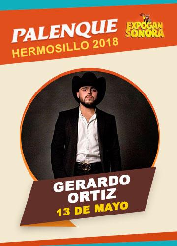 Gerardo Ortiz en el Palenque Hermosillo 2018