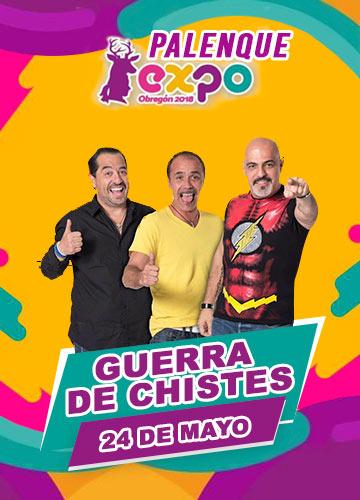 Guerra de Chistes en Expo Obregon 2018