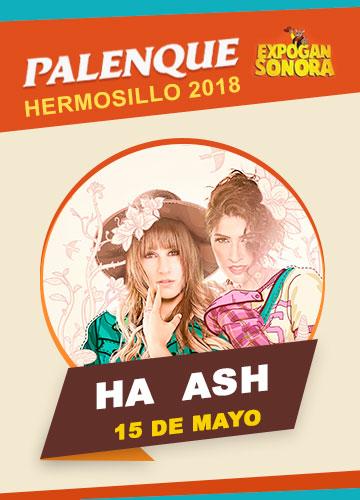 Ha-Ash en el Palenque Hermosillo 2018