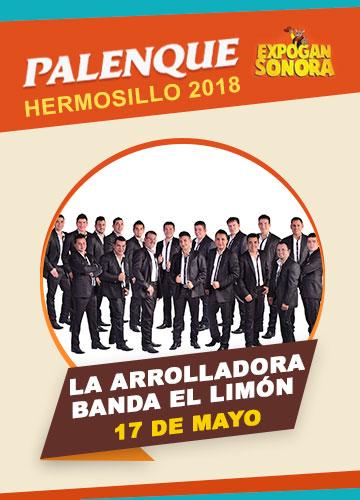 La Arrolladora en el Palenque Hermosillo 2018