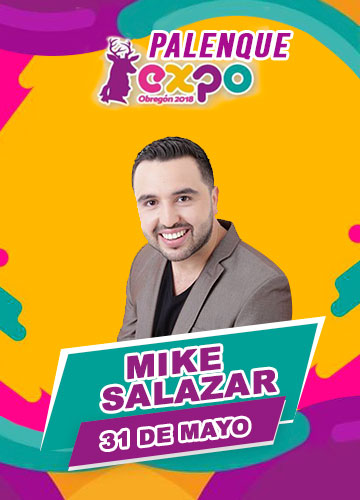 Mike Salazar en Expo Obregon 2018