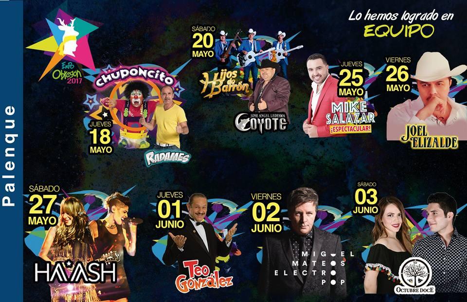 Programa Palenque Expo Obregon 2017