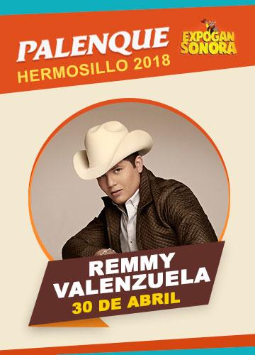 Remmy Valenzuela en el Palenque Hermosillo 2018
