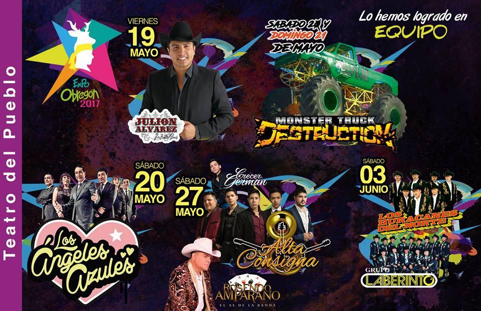 Artistas Teatro del Pueblo Expo Obregon 2017