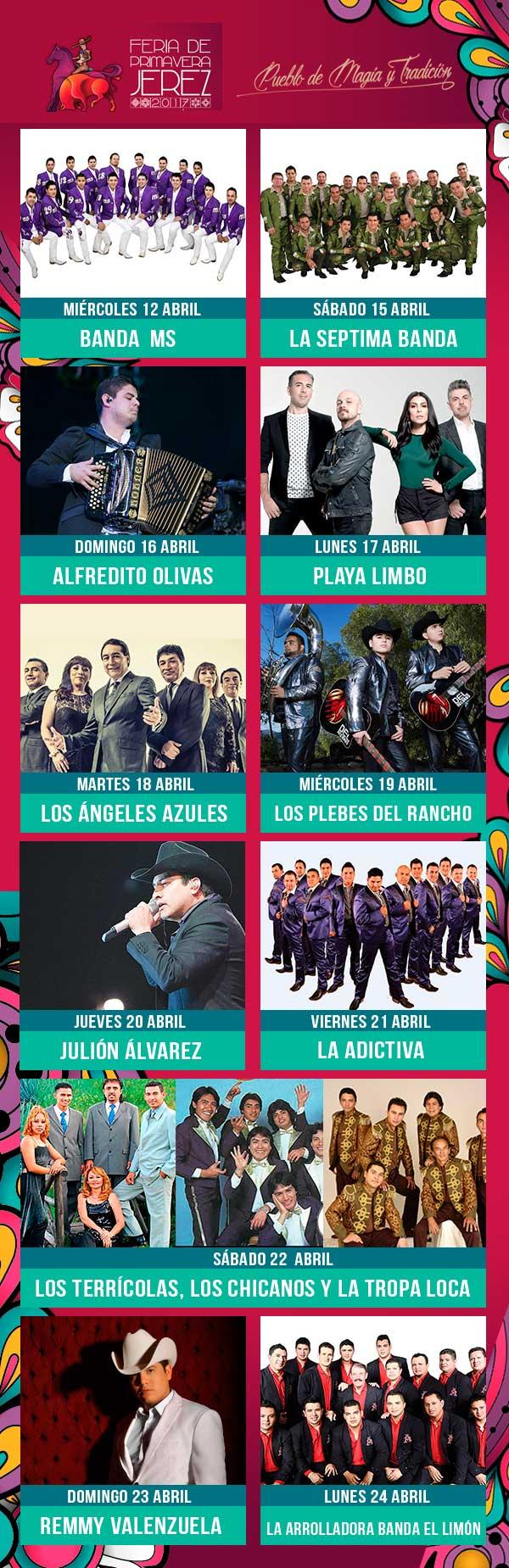 Cartel Teatro del Pueblo Feria Jerez 2017