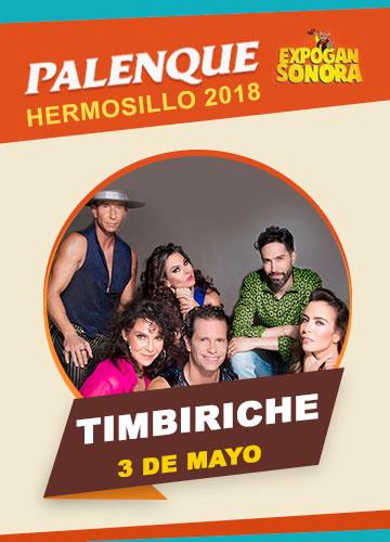Timbiriche en el Palenque Hermosillo 2018