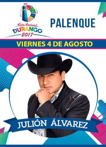 Julion Alvarez en el Palenque FENADU 2017
