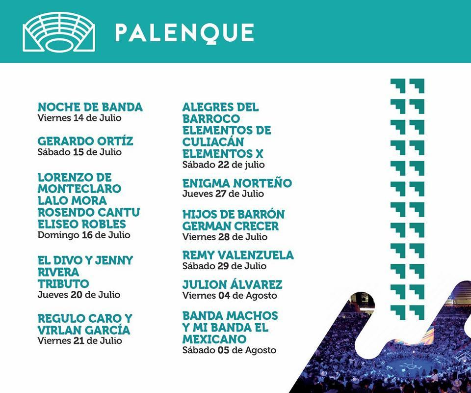 Cartel Palenque FENADU 2017