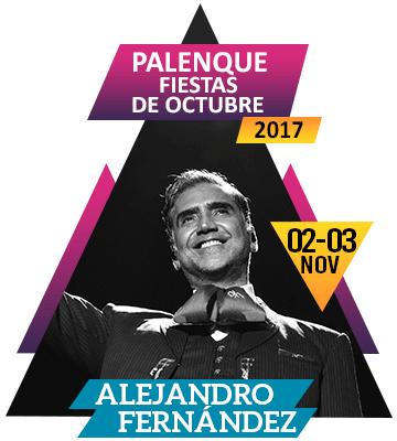 Alejandro Fernandez en Palenque Fiestas de Octubre 2017