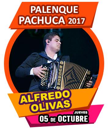 Alfredo Olivas en Palenque Pachuca 2017