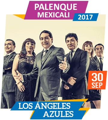 Angeles Azules en Palenque Mexicali 2017