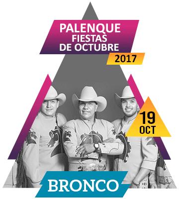 Bronco en Palenque Fiestas de Octubre 2017