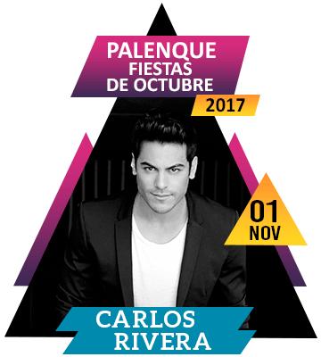 Carlos Rivera en Palenque Fiestas de Octubre 2017