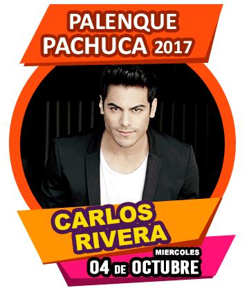 Carlos Rivera en Palenque Feria Pachuca 2017