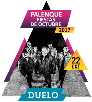 Grupo Duelo en Palenque Fiestas de Octubre 2017