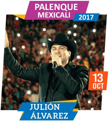 Julion Alvarez en Palenque Mexicali 2017