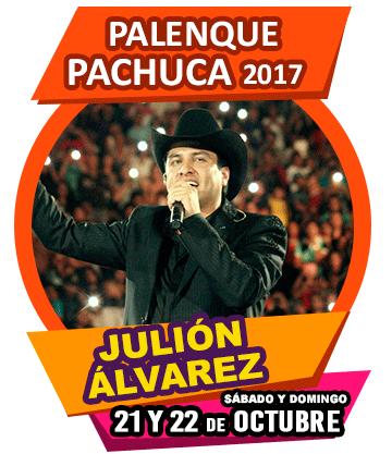 Julion Alvarez en Palenque Pachuca 2017