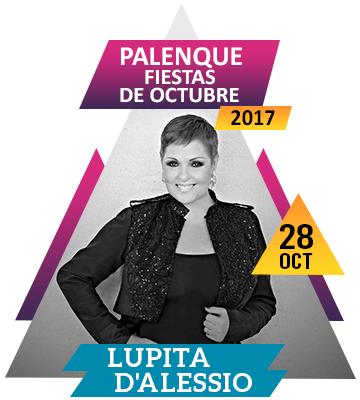 Lupita D'Alessio en Palenque Fiestas de Octubre 2017
