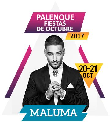 Maluma en Palenque Fiestas de Octubre 2017