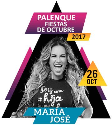 Maria Jose en Palenque Fiestas de Octubre 2017