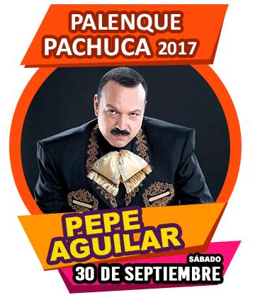 Pepe Aguilar en Palenque Pachuca 2017