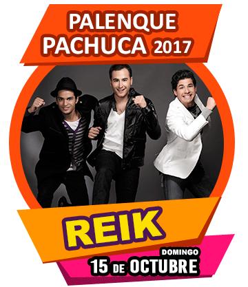 Reik en Palenque Pachuca 2017