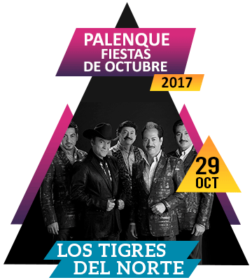 Tigres del Norte en Palenque Fiestas de Octubre 2017