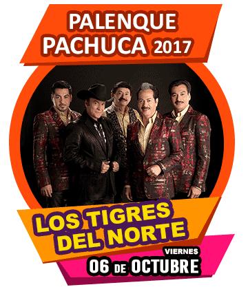 Los Tigres del Norte en Palenque Pachuca 2017