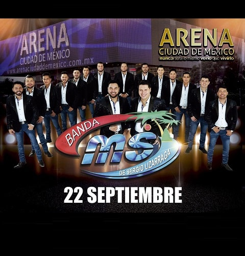 Banda MS en la Arena Ciudad de México 2018