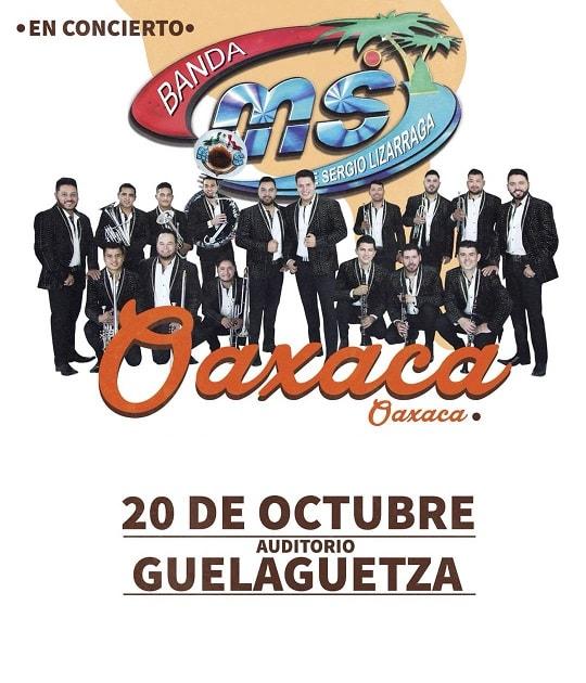 Banda MS en el Auditorio Guelaguetza 20 de Octubre