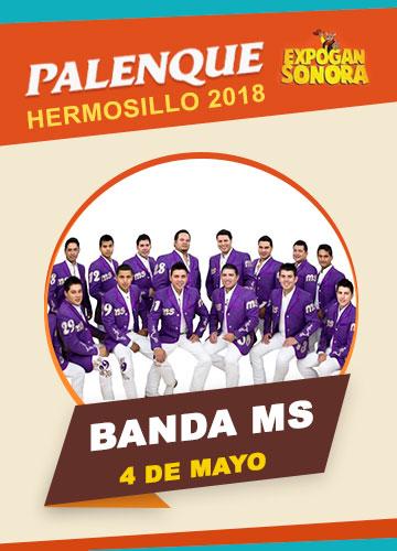 Banda MS en el Palenque Hermosillo 2018