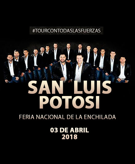 Banda MS en la Feria Nacional de la Enchilada 2018